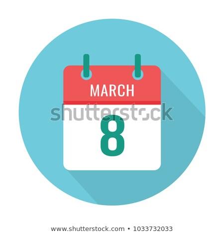 Világ vese nap naptár üdvözlőlap ünnep Stock fotó © Olena