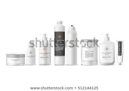 Set cosmetici prodotti bianco vettore design Foto d'archivio © Makstorm