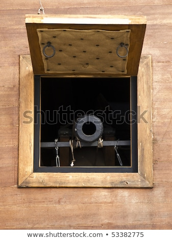 Ship Cannon Window Stock photo © FOTOYOU