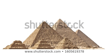 isolate pyramid stock photo © bluering