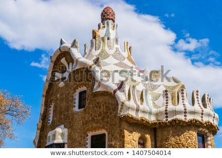 familia · Barcelona · ünlü · mimari · İspanya · inşaat - stok fotoğraf © vapi