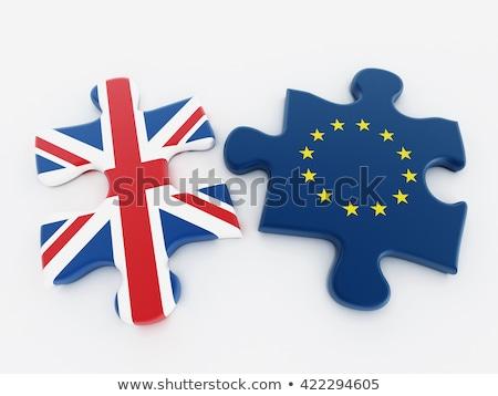 Regno Unito unione pezzi del puzzle business mondo Foto d'archivio © idesign