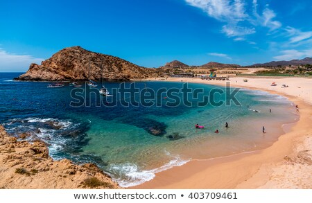 Beach at Cabo san Lucas in Mexico Stock photo © boggy