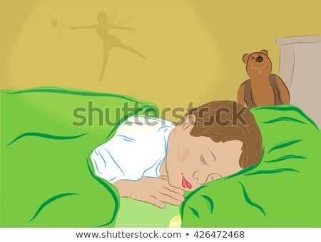 tand · fairy · vector · cartoon · groot - stockfoto © lenm