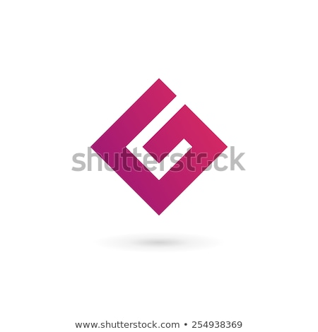 letter g or number 6 six vector logo Stock photo © blaskorizov