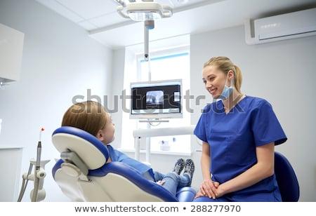 歯科 · 患者 · クリニック · 薬 · 歯科 - ストックフォト © dolgachov