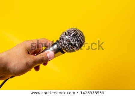 muzyki · kobiet · kobieta · włosy · piękna · disco - zdjęcia stock © robuart