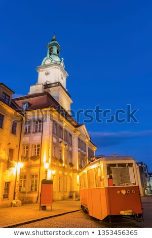 Old tram in Jelenia Gora Stock photo © benkrut