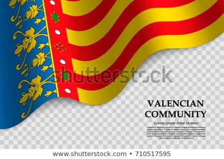 valencian community flag stock photo © grafvision