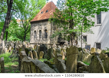 Stones on jewish cemetery Stock photo © vapi