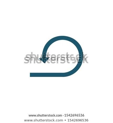 Circular vuelta atrás pueden utilizado Foto stock © kyryloff