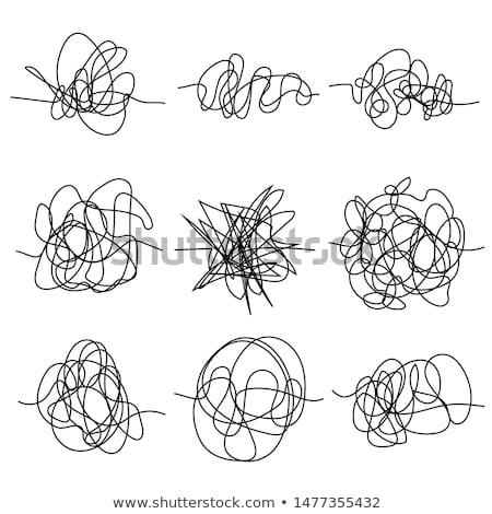 аннотация рисованной Mess ребенка Сток-фото © SArts