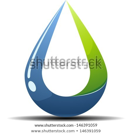 Impossible water drop icon. Stock photo © almagami