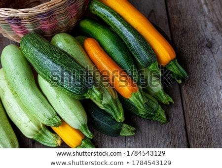 Blanche studio Cook manger agriculture fraîches Photo stock © leeser