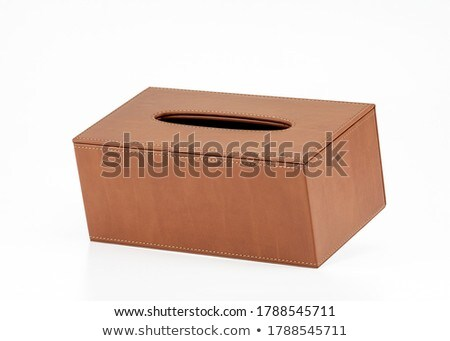Tissue box isolated on white Stock photo © gsermek
