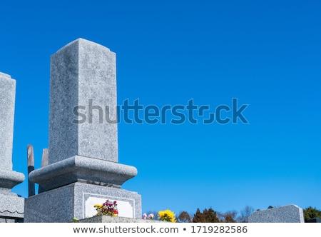Zachodniej grobu ilustracja stylu kościoła Biblii Zdjęcia stock © Blue_daemon