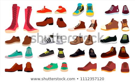 Female Footwear Set of Isolated illustrations Stock photo © robuart