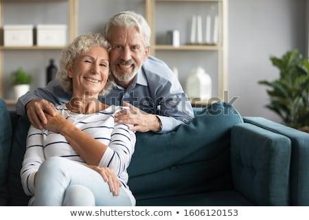 Romantique couple jouir de unité soutien Photo stock © vkstudio