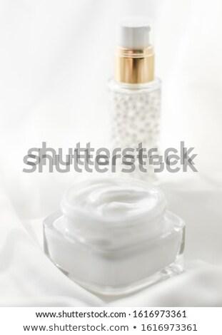 Kavanoz serum jel beyaz Stok fotoğraf © Anneleven