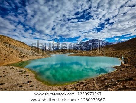 озеро долины Индия Гималаи гор горные Сток-фото © dmitry_rukhlenko