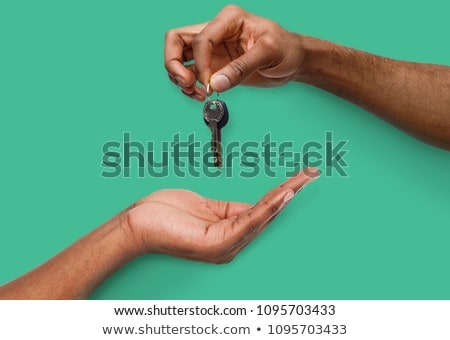 Hand and keys stock photo © Taigi