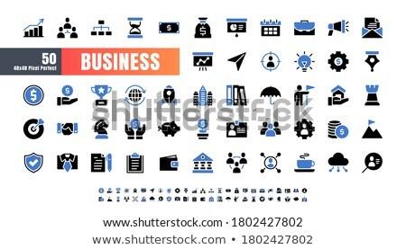 negócio · idéia · ícone · conjunto · vetor · estilo - foto stock © ahasoft