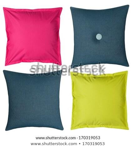 розовый изолированный подушкой белый дизайна домой Сток-фото © taviphoto