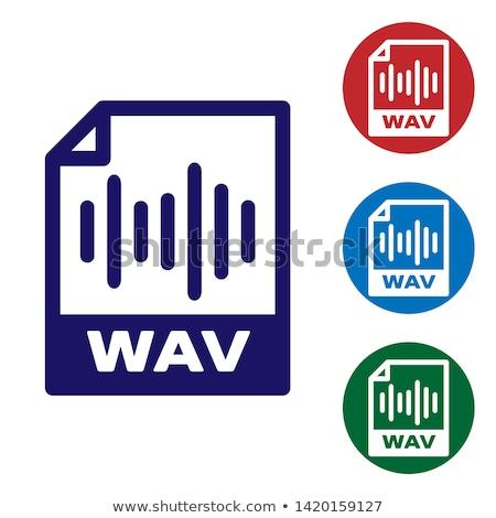 Design Computer Audio Multimedia musikalische Datei Stock foto © barsrsind