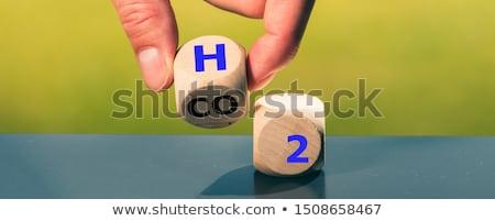 водород будущем 3d иллюстрации технологий промышленности власти Сток-фото © limbi007