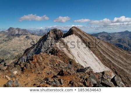 Vignemale peak Stock photo © pedrosala