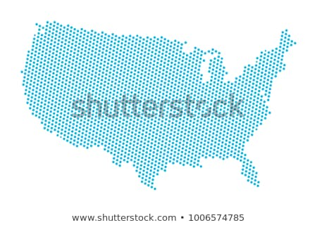 Térkép USA ötlet terv háttér oktatás Stock fotó © kiddaikiddee