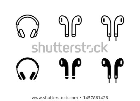 hangszóró · hangjegyek · zene · audio · hang · mutat - stock fotó © kitch
