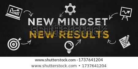 Leadership in Multicolor. Doodle Design. Stock photo © tashatuvango