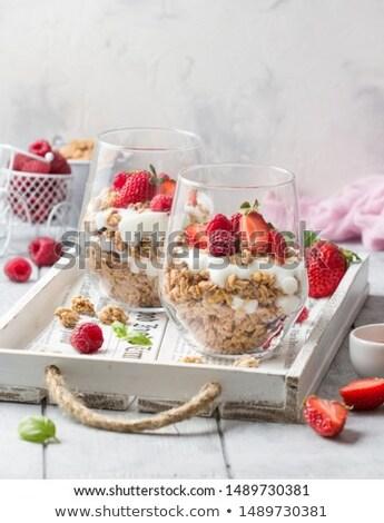 berries dessert stock photo © doupix