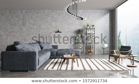 Kolorowy twórczej biuro pokój wnętrza Zdjęcia stock © netkov1