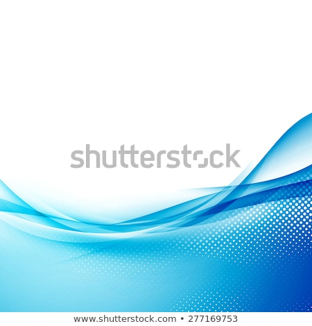 blue background with light streak and text space Stock photo © SArts