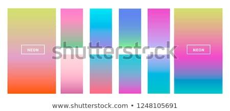 Pastel cor gradientes grande conjunto Foto stock © SArts