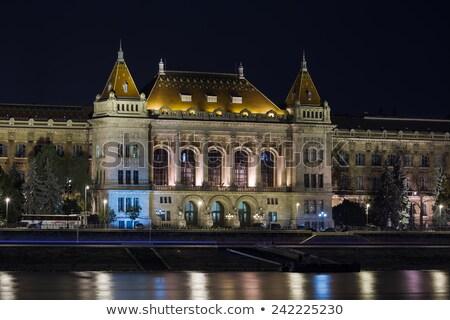 Budapest Universidad tecnología ciencias económicas Hungría vista Foto stock © borisb17