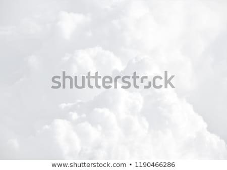 Sol branco nuvem nuvens blue sky temporada Foto stock © photochecker