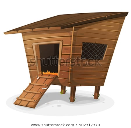 Hen House Stock photo © benchart