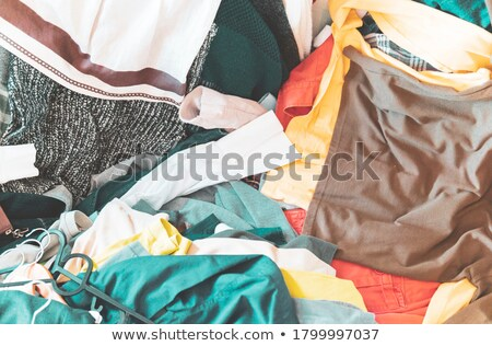 scattered clothes Stock photo © feelphotoart