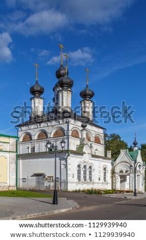 Katedral Rusya yaz kilise mimari beyaz Stok fotoğraf © borisb17
