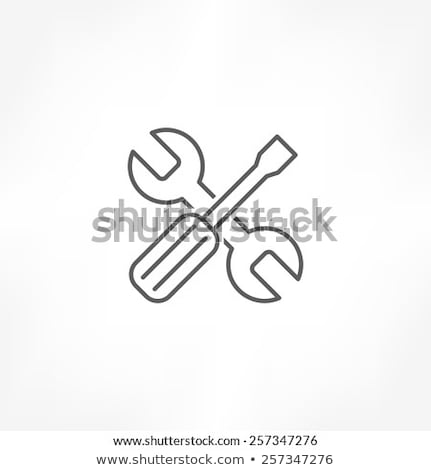 Repair Instrument Icon Vector Outline Illustration Stock photo © pikepicture