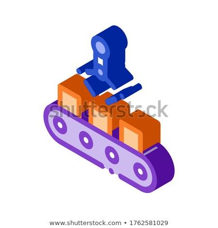 Fabricación producto icono vector signo Foto stock © pikepicture
