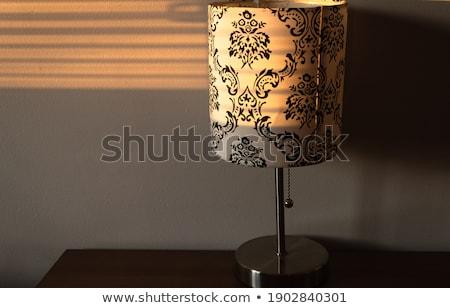 стали · серый · лампы · стены · открытых · ярко - Сток-фото © lunamarina