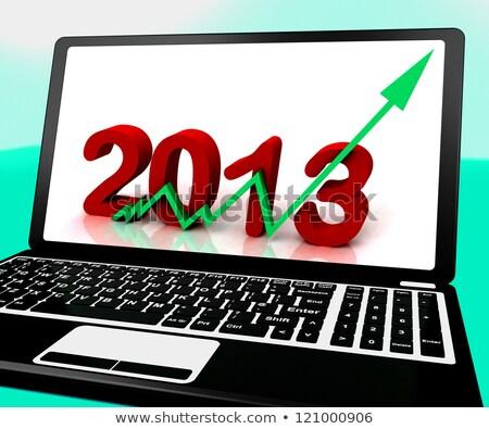 Laptop de vendas internet calendário teia Foto stock © stuartmiles