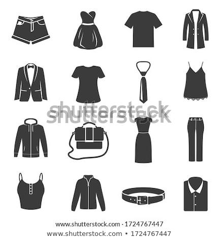 Vektor nő férfi divat modellek csobbanás Stock fotó © netkov1