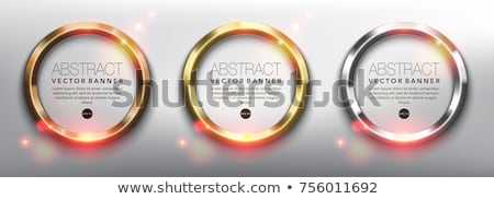 érem grafikai tervezés sablon eps10 háttér csillag Stock fotó © haris99