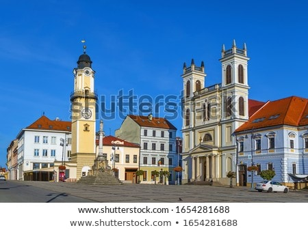 St Francis Xavier Cathedral Banska Bystrica Slovakia Stockfoto © Borisb17
