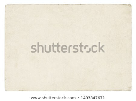 Blank yellowing paper pages from a vintage book. Stock photo © latent